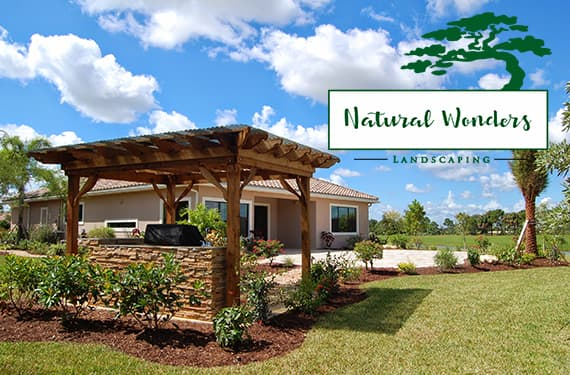pergola design and installation – Natural Wonders Landscaping 954-421-0108