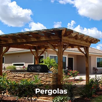 Pergolas – Natural Wonders Landscaping 954-421-0108