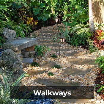 Walkways – Natural Wonders Landscaping 954-421-0108
