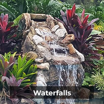 Waterfallls – Natural Wonders Landscaping 954-421-0108
