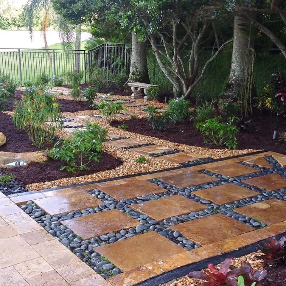 , Butterfly Garden Walk, Natural Wonders Landscaping