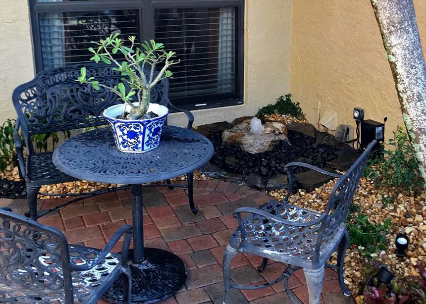 , Peaceful Meditation Garden, Natural Wonders Landscaping
